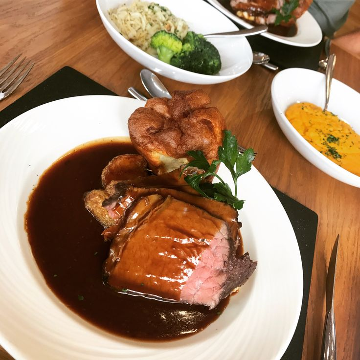 Delicious Roast Beef Dinner for Sunday Lunch in Sunderland, Stadium of Light - Proper Scrumptious