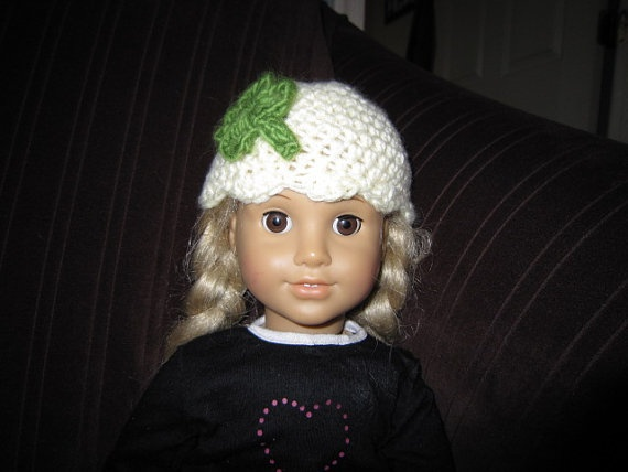 Luck 'O the Irish crocheted hat to fit an American by disneymomma, $10.00