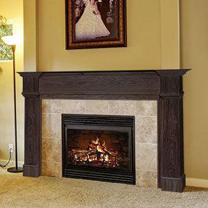 Amberley X Wood Fireplace Mantel Surround
