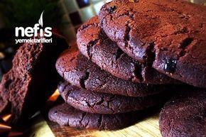Amerikan Kurabiyesi (Kakaolu-Cookies)