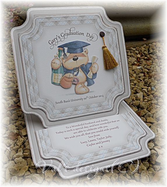 Graduation card, with Fizzy Moon image
