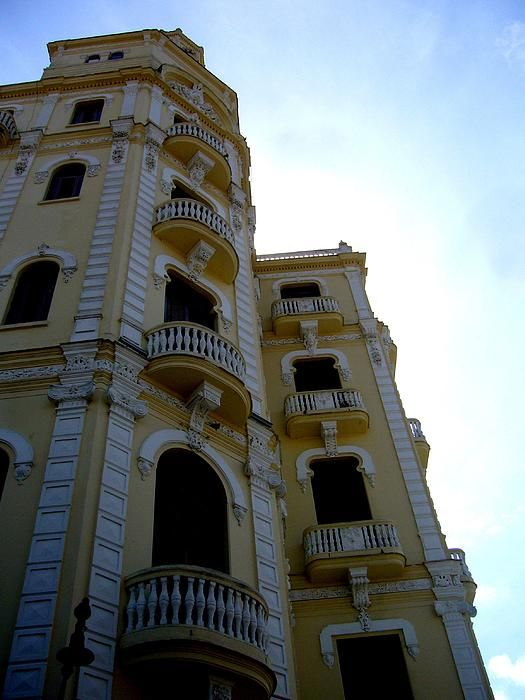 Behind the Building by Zinvolle - The beauty of old balconies. Photo taken in Havana, Cuba