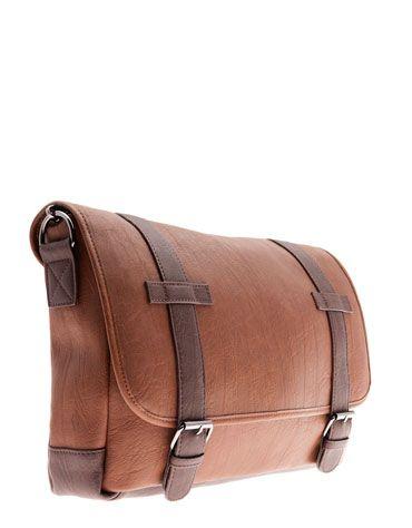 Bershka Romania - Strap detail imitation leather bag