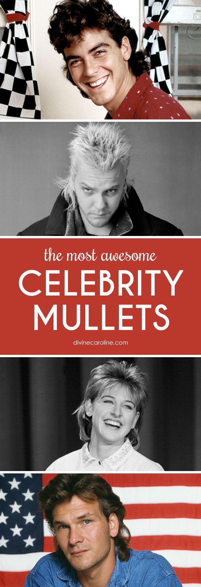 Do you remember these 20 celebrity mullets? #Hair #Mullets