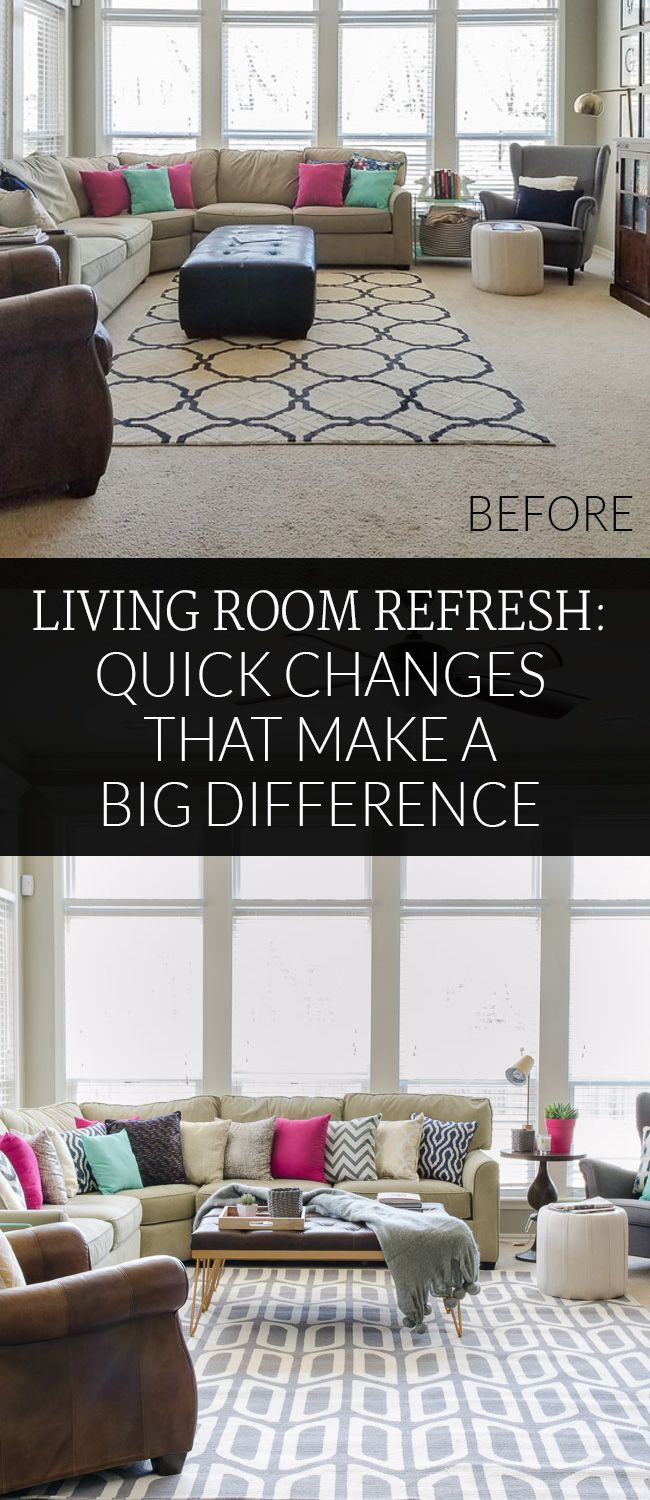 Quick Decor Changes That Make A BIG Difference