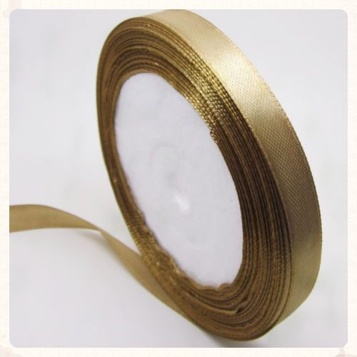 22 metres of brown satin ribbon to decorate your wedding reception or diy invitations. 10mm wide and 25 yards long. This long length of brown satin ribbon costs only £1.99! www.picketfenceweddings.co.uk