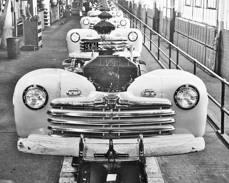 San Jose Car Dealerships >> 667 best Old Assembly Lines images on Pinterest | Vintage cars, Antique cars and Old school cars