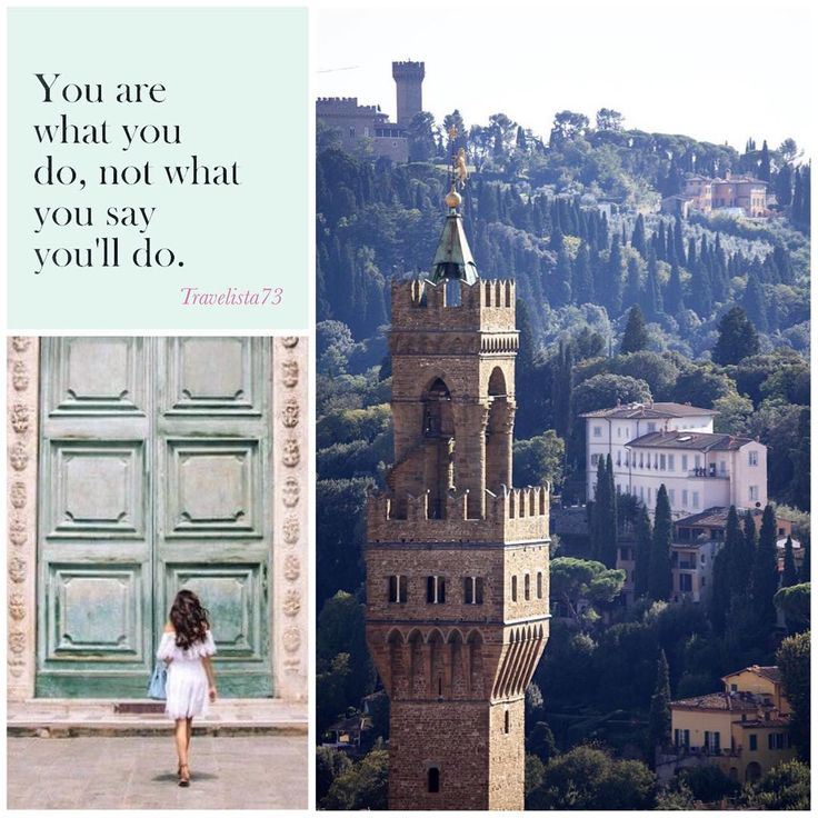 """""""You are what you do, not what you say you'll do."""" - C.G. Jung Florence Italy"""