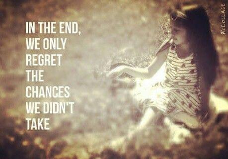 --no regrets