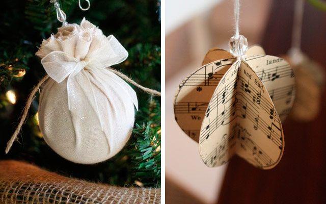 Adornos de navidad r sticos para un rbol muy natural for Decoracion navidena rustica