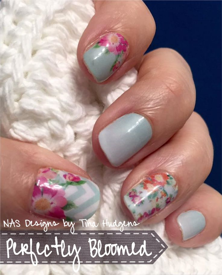 Jamberry NAS by Tina Perfectly Bloomed