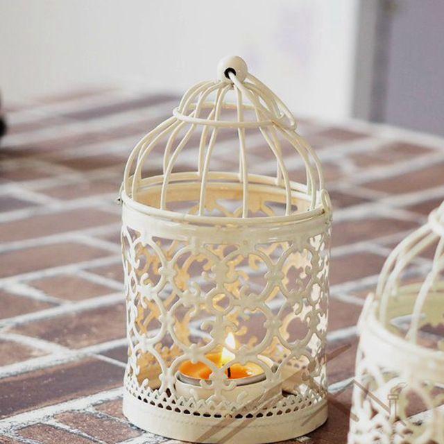 1 Pz Europa Retro portacandele in metallo Cava candeliere decorazione della casa candelabros candelabri matrimonio marocchino lanterne