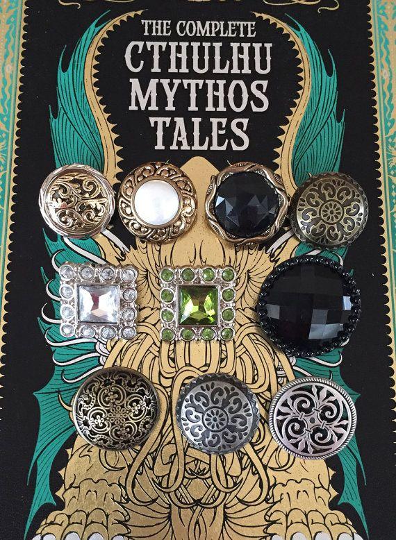Lovecraft Cthulhu Mythos Book Purse Sci Fi Book Clutch