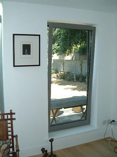 Aluminium window frames with powder coating | IDSystems