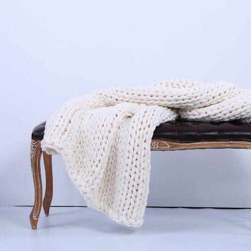 Berkshire Blanket Sailor's Knit Chunky Throw