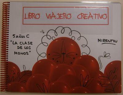 LA CLASE DE MIREN: mis experiencias en el aula: LIBRO VIAJERO CREATIVO