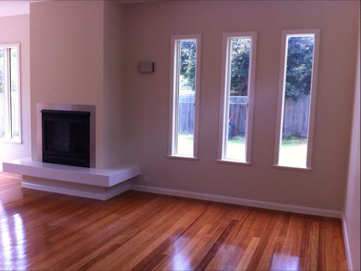 Living room  Shug sashless windows