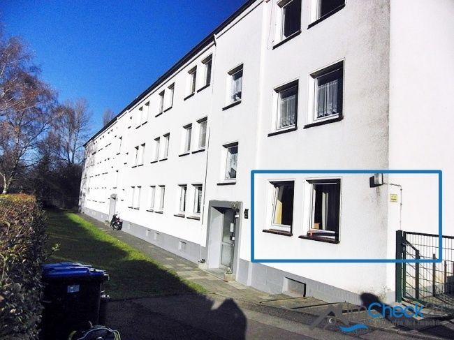 Die Eigentumswohnung befindet sich im Erdgeschoss