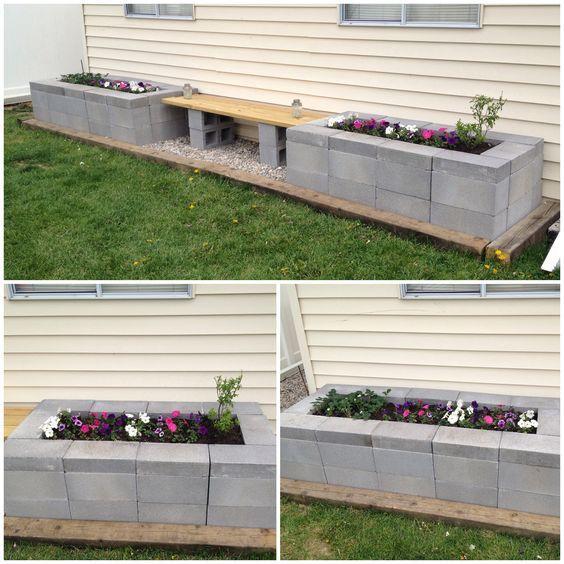 20 fantastiche decorazioni per il giardino con dei blocchi di cemento! Lasciatevi ispirare…