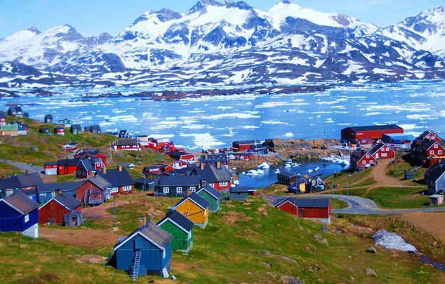 Tasiilaq, Groenland | 100 km au sud du cercle polaire arctique