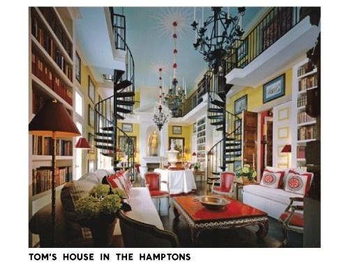 mmm...spiral staircases: Thomas Britt, Spirals Stairs, Dream Libraries, Summer House, Dream House, Homes Libraries, Spirals Staircase, Long Islands, Architecture Digest