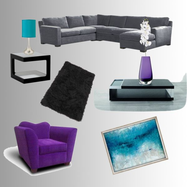 Gray And Teal Living Room By Jurzychic On Polyvore: 1000+ Images About Living Room On Pinterest
