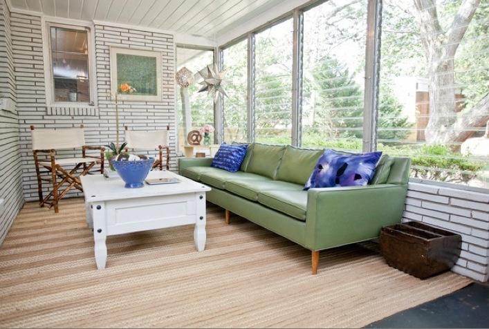 Sunroom w jalousie windows for the home pinterest for Jalousie window design