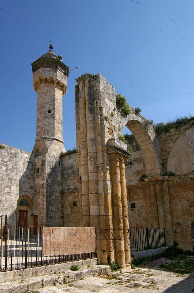 Ruins of Sebastia  Samaria  Israel