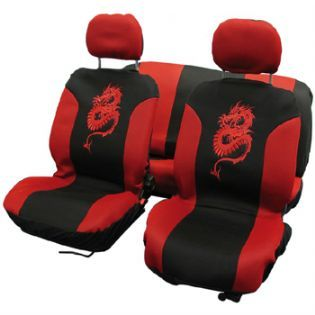 Dragon Design Car Seat Covers
