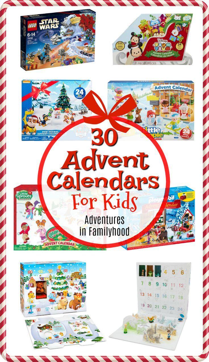 30 Advent Calendars For Kids Toy Advent Calendar Advent