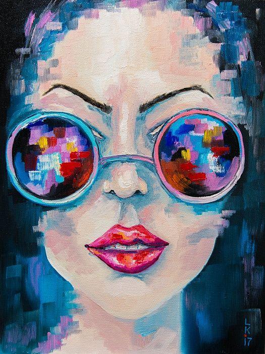 aa81a5085e0e Girl in sunglasses in 2019