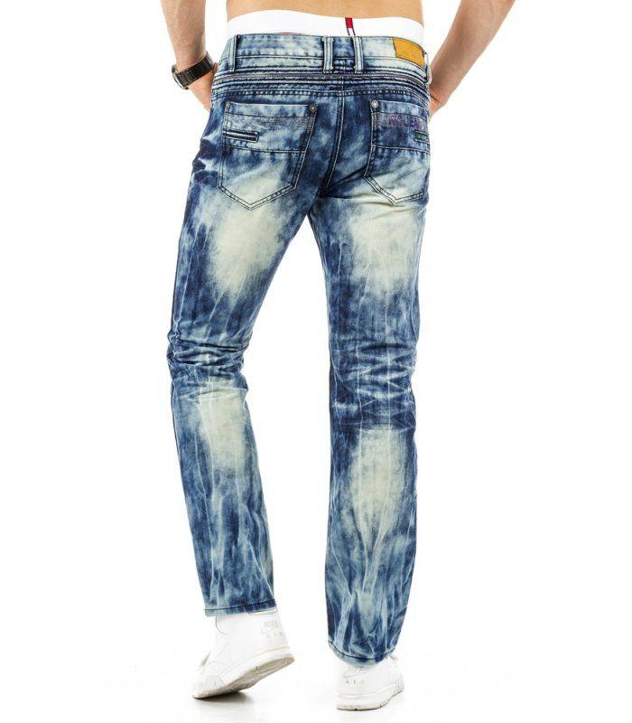 Pánske modré jensové nohavice