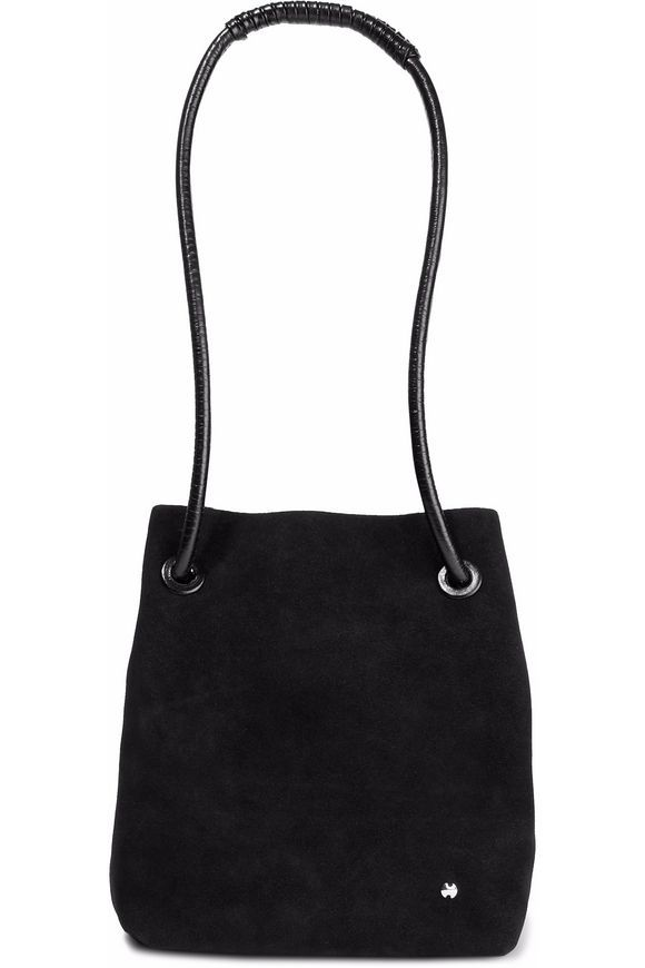 20a141cd2f HALSTON HERITAGE Alism suede bucket bag