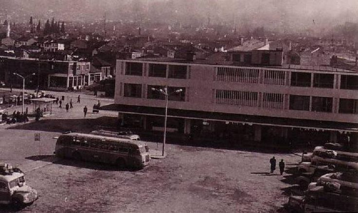 1960 lar Bursa  santral Garaj nostalji