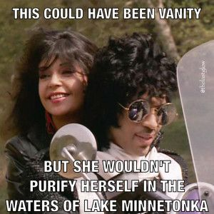Purify Yourself in the Waters of Lake Minnetonka - Prince and Apollonia