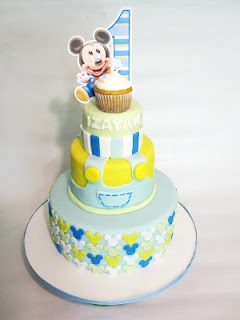Baby Mickey Mouse Cake