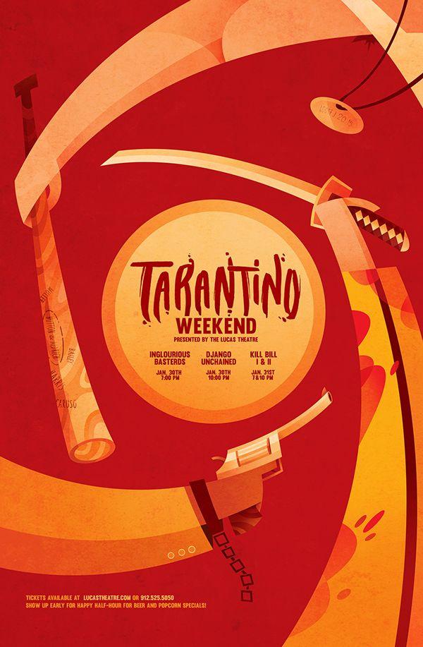 Sean Loose - Lucas Theatre Event Posters Tarantino