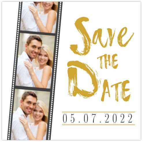 STOERE SAVE THE DATE MET FOTOSTROOK