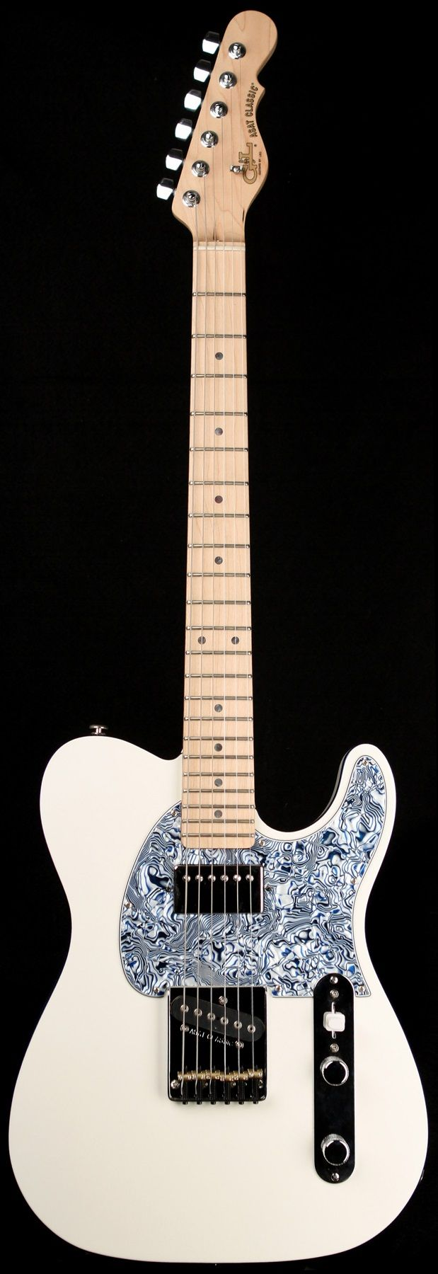 G&L Guitars ASAT® Classic Bluesboy, Gloss White over Alder