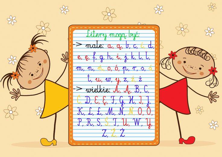 Litery alfabetu