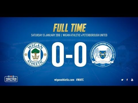 HIGHLIGHTS: Wigan Athletic 0 Peterborough United 0 - 13/01/18