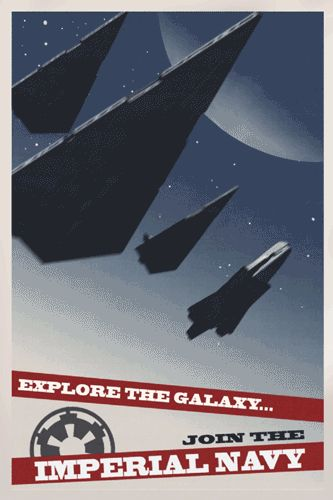 Star Wars Geek | Join the Imperial Navy | But first, make sure you click the Pinterest #gif button in the bottom left corner! | Funny Technology - Community - Google+ via Adam Petersen