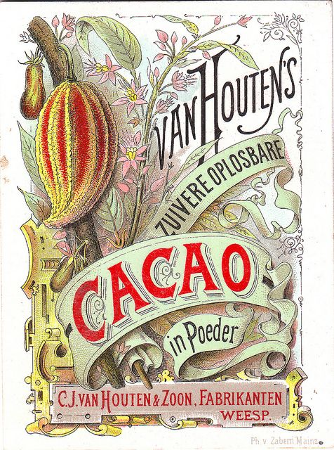 CHROMO CACAO VAN HOUTEN - ADVERTISING CARD FOR VAN HOUTEN CACAO 1880S | Flickr - Photo Sharing!