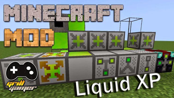 Liquid XP Mod Para Minecraft 1.8.3/1.7.10/1.7.2/1.6.4/1.6.2   Grill Gamer   Download Direto