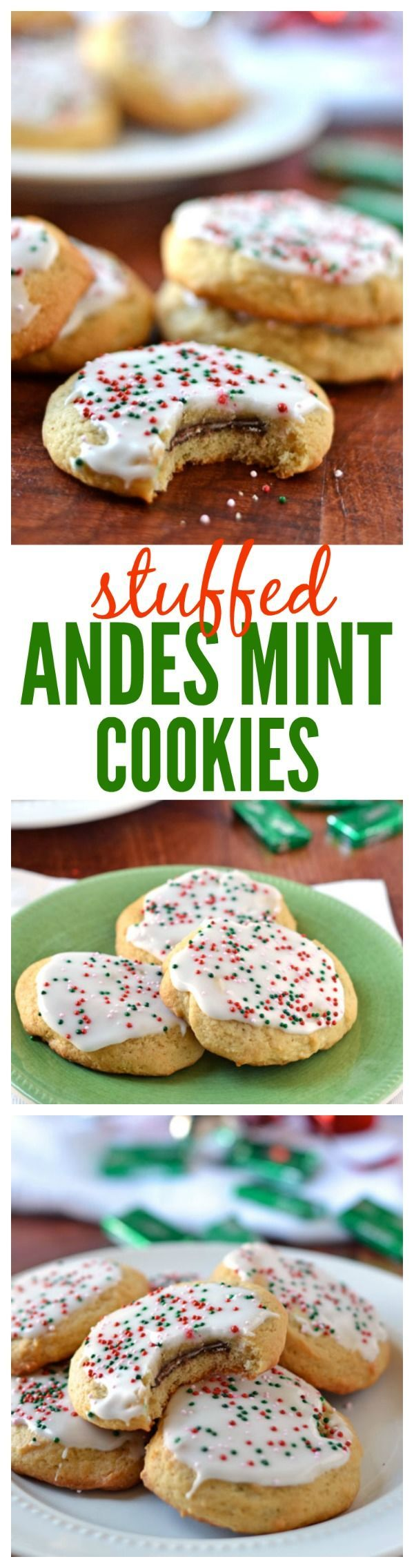 Cookies with andes mints recipe