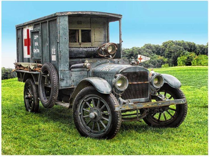 1917 Ambulance from World War One