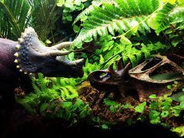 Jurassic Park Diorama by Katie9999