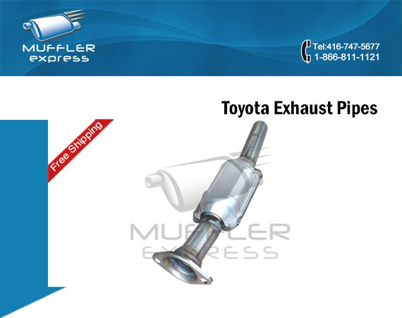Muffler Express, leading Wholesalers of Toyota Exhaust Pipes in Toronto, offers the complete line of Toyota Camry Exhaust Pipes and Toyota Sienna Exhaust Pipes at discounted price. The premium Exhaust System Store is known to deal only with reputed Toyota Exhaust Pipe Manufacturers.