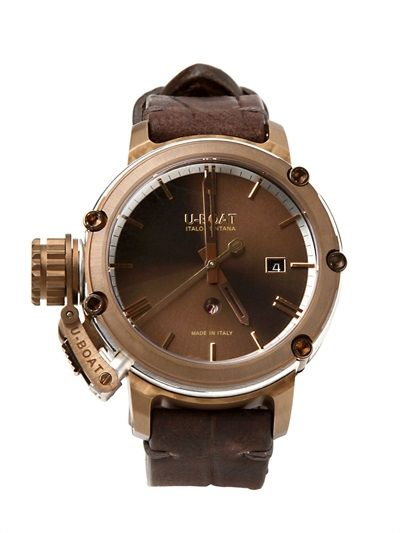U-BOAT - CHIMERA BRONZE WATCH - LUISAVIAROMA - LUXURY SHOPPING WORLDWIDE SHIPPING - FLORENCE