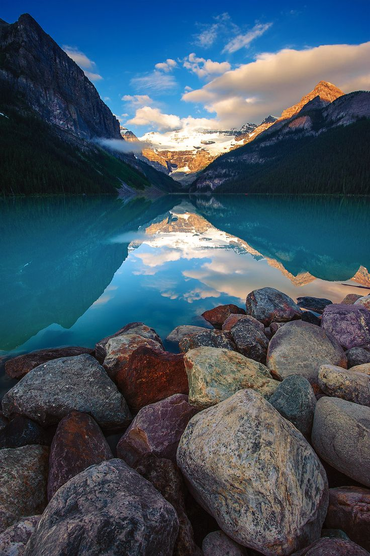 Lake Louise, Alberta, Canada.I want to go see this place one day. Please check out my website Thanks. http://www.travelbrochures.org/228/north-america/travel-canada